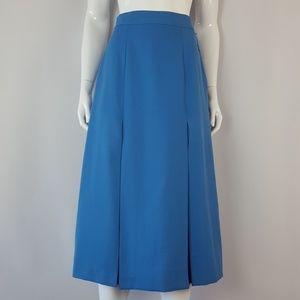 New Vintage Blue Midi Skirt
